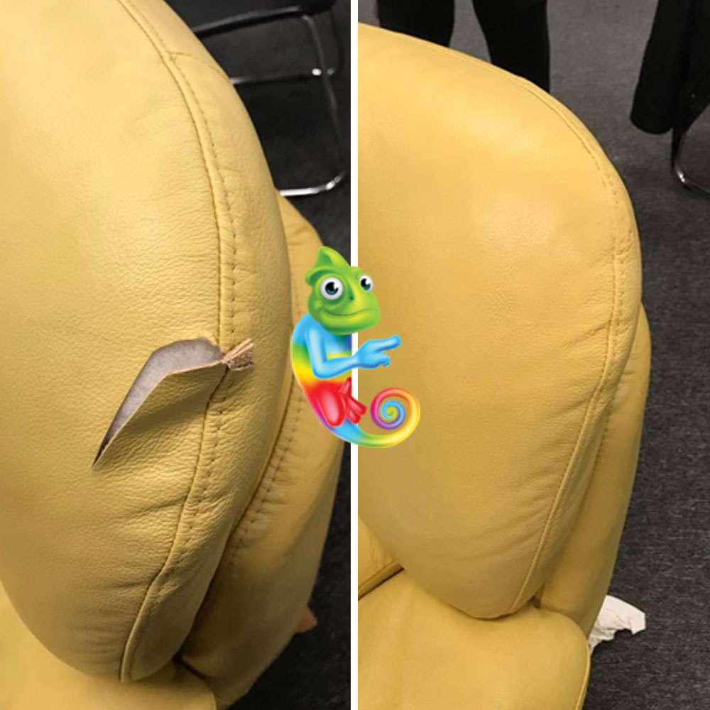 Repair Tear in Leather Seat