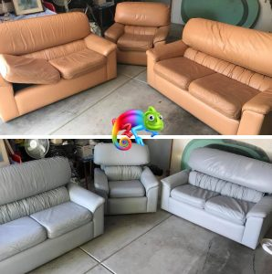 Dyeing Leather Couches
