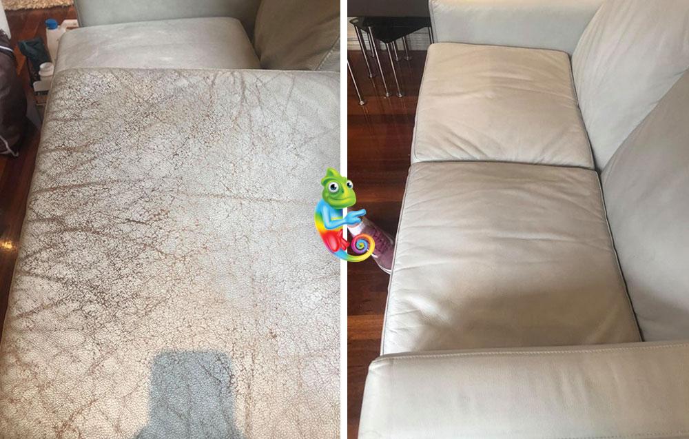 General Leather Repair on Sofa