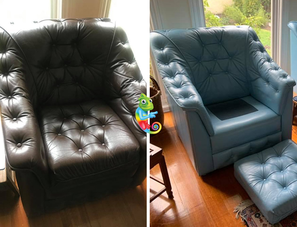 Dyeing Leather Sofa