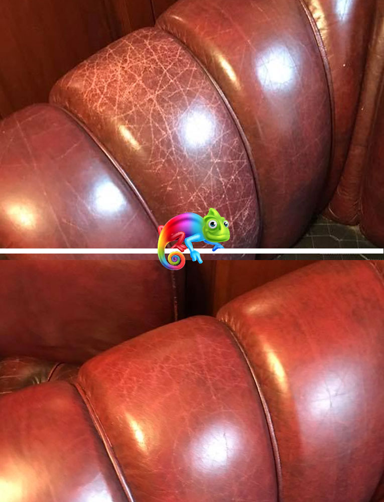 Repairing Cracked Leather on Arm Chair