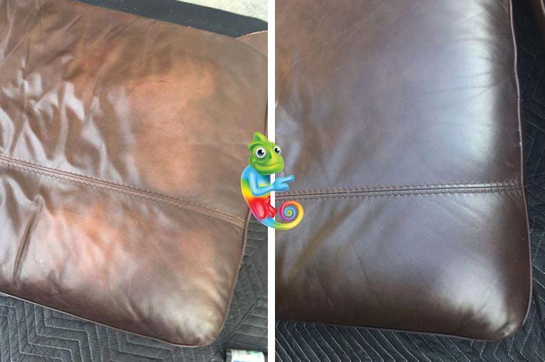 Repairing & Cleaning Leather Lounge